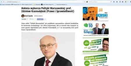 polityka warszawska